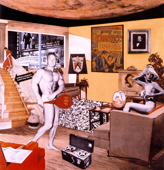 Richard Hamilton, Just What Is It that Makes Today's Homes So Different, So Appealing? 1956 Collage