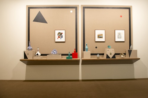 Ancient Through Modern: A Collection of Kamrooz Aram, Uncertain Objects, Part 1 Courtesy : Art Dubai 2014