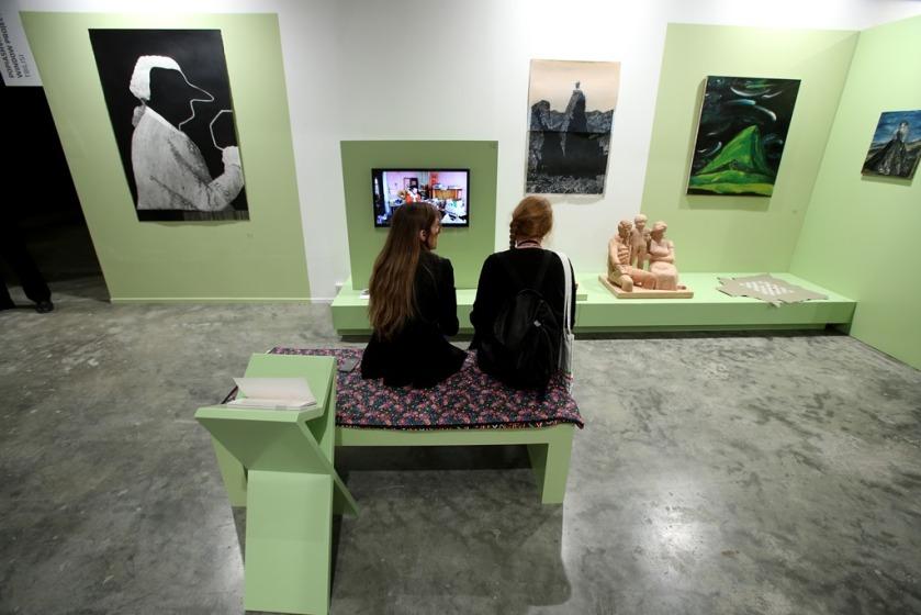 Marker installation view, 2014