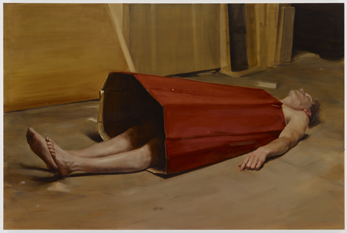 Michael-Borremans-The-Devils-Dress-David-Zwirner
