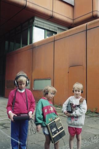 Frederic Gmeiner, Sebastian Singwald and Nils Frahm